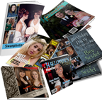 Top Quality Soft or Hard Cover Books and Soft Cover Magazines to show off your special occations title=Books & Magazines